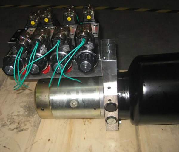 top popular hydraulic Power Units multiple sets cylinders 24vdc 12vdc 2500rpm power packing 3000psi small hydraulic system for drill machine 2020