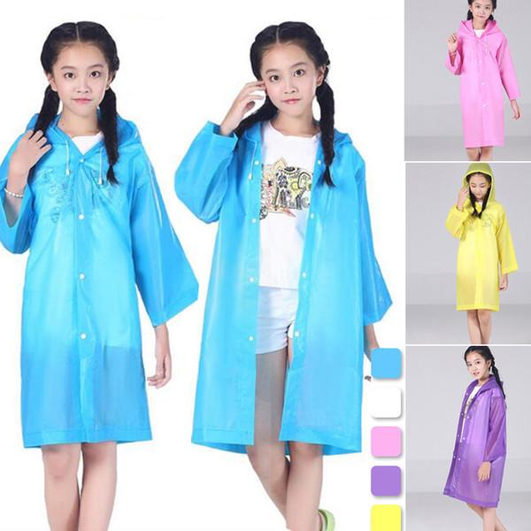 Kapak boyu amaçlı yağmurluk panço yağmurluk çocuk Kapşonlu açık ceket yağmurluk