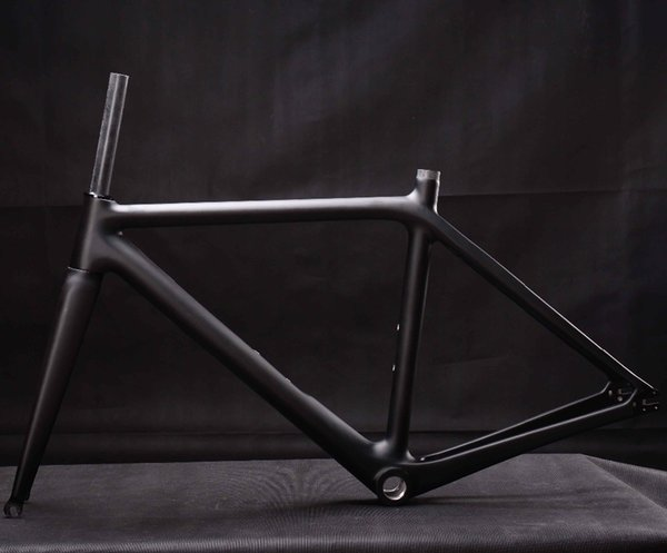 Miracle Hot Sell Full carbon fiber Fixed Gear Bike Frame,Single speed 700c Carbon Bicycle Frame,warranty 2 years Track Bike