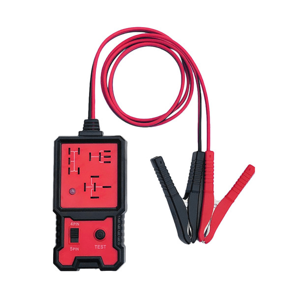 Universal New 12V Cars Relay Tester Relay Testing Tool Auto Battery Checker Accurate Diagnostic Tool Portable Automotive Parts
