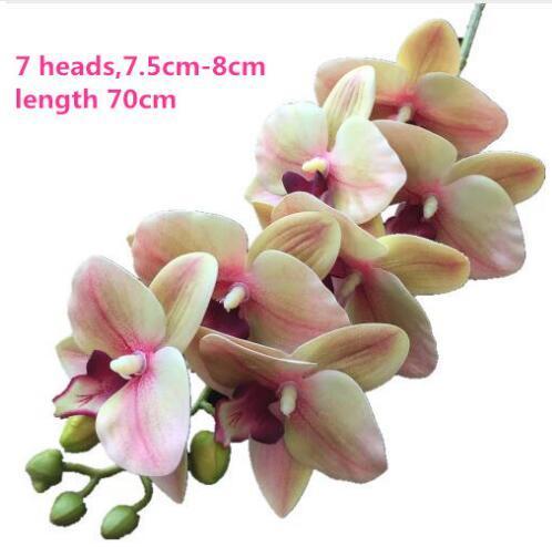 Orquídea rosa pálido de 70 cm.