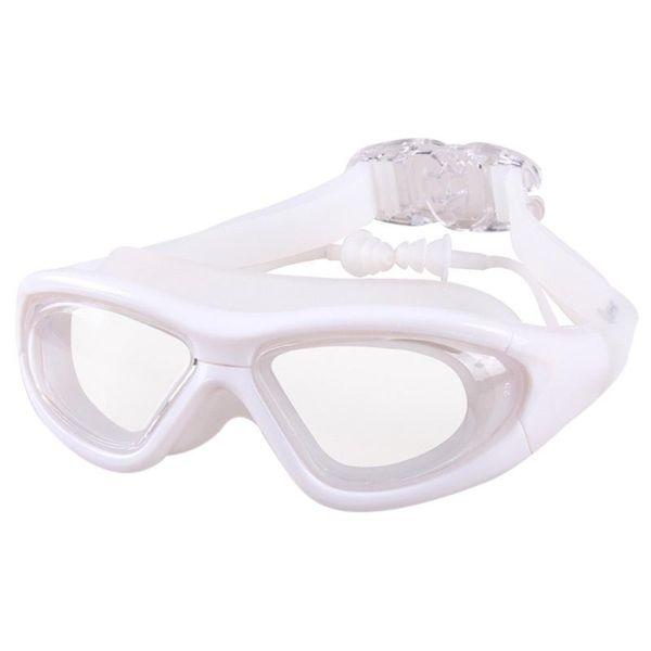 top popular Men Woman Kids UV Protection Waterproof Anti Fog Transparent Surfing Swimming Goggles Eyewear Diving Glasses PC Lens 2021