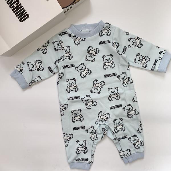 show de meninas recém-nascidas Macacão bebê veste terno de algodão roupa do bebê Enxoval Set New 09197