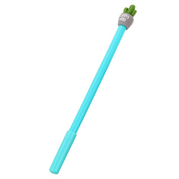 Cute Colorful Kawaii Lovely Cartoon Novelty Creative Botany Plant Cactus Gel Ink Rollerball Pens Gel Ball Pens Office School S