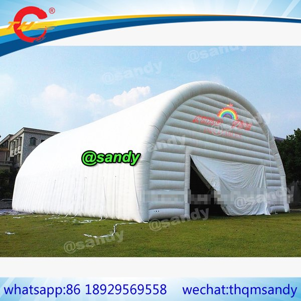 free air ship,Outdoor Garden Marquee Party Event large inflatable Dome Tent Portable Inflatable Tent