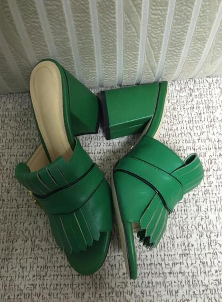 Nuovo design in pelle verde