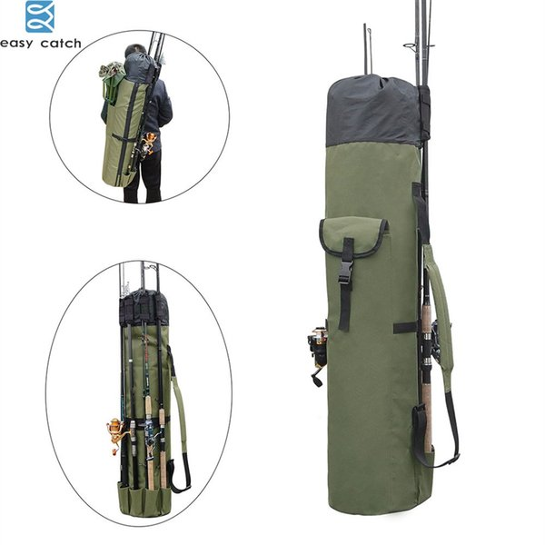 Fishing Rod bag Carrier Fishing Reel Organizer Pole Storage Bag for and Traveling case #28540