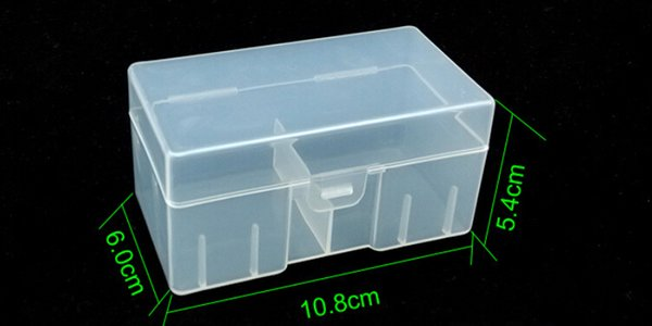 free shipping outdoor Portable Plastic 9V battery Storage Box protector Holder for 12 X 9V Batteries 9V battery Box Container Case Organizer