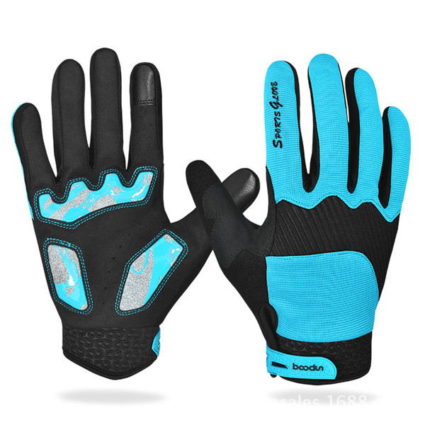 Touch-screen All-finger Gloves Ski Gloves Windproof Breathable Snowboard Outdoor Running Sports Running Skiing