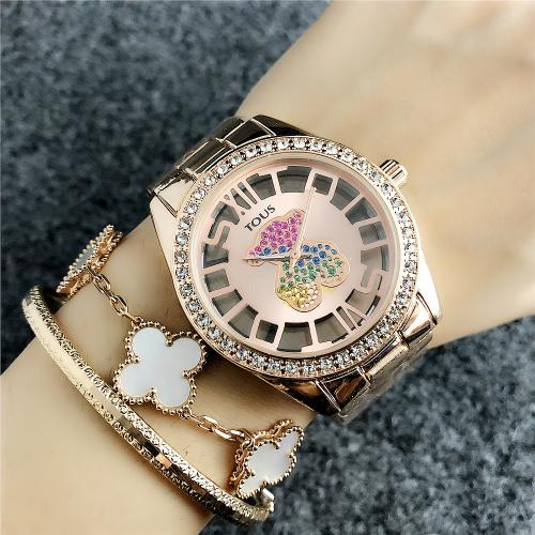 2019 Luxury Famous michael Women Rhinestone Watches Fashion Luxury Dress m k Ladies Watch kor Dial Man bag DZ GUESSity Watches028