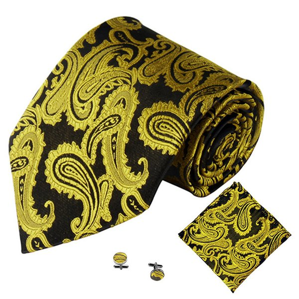 Fazzoletto da uomo Fazzoletto da taschino Fazzoletto da polso Set Poliestere di seta Tinta unita Extra Larghezza lunga Cravatta Business Wedding #YL