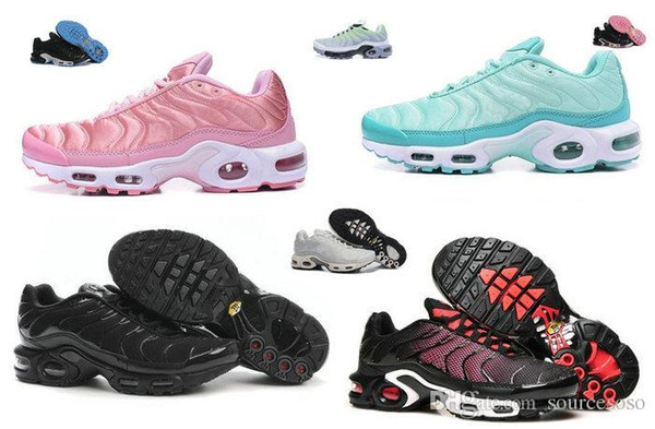 2017 new TN Women's Running Trainers Shoes high quality Plus SE TN Tuned Quilted women running shoes Plus GS Tns ladies and big boy Trainer