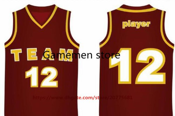 Gamemen store TOP10 BasKetball Jerseys Men Women Youth Kid Adult Lady Personalized Stitched Any Your Own Name Number S-4XL