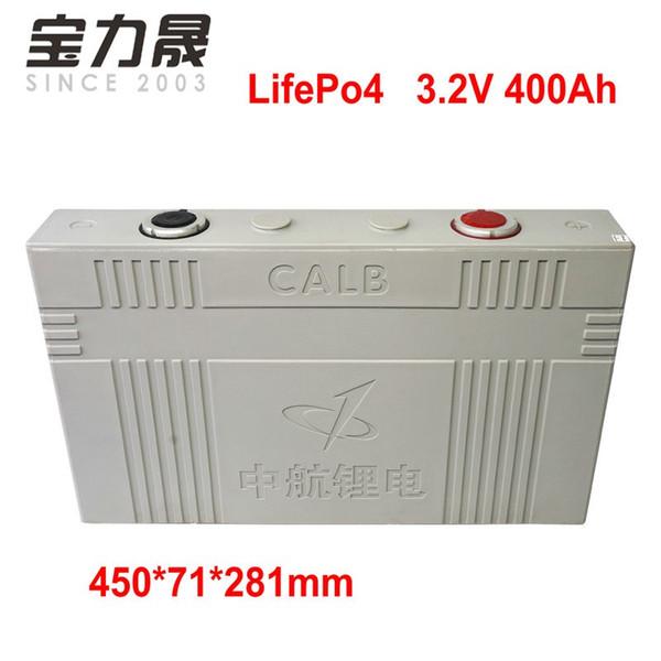 1pcs calb 3.2v 400ah lifepo4 battery cell not 300ah 24v 48v diy for ev rv battery pack diy solar eu us tax ups or fedex