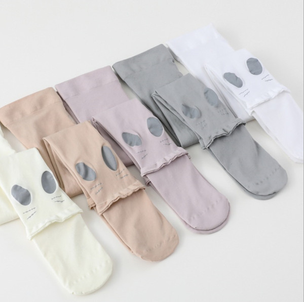 2019 New Baby Kids Tights Cute Children Rabbit Stockings Girls Princess leggings Summer Spring Cartoon Bunny High-elasticC5044