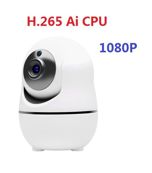 2019 update Auto Track 1080P Camera Surveillance Security Monitor WiFi Wireless Mini Smart Alarm CCTV Indoor Camera Baby Monitor