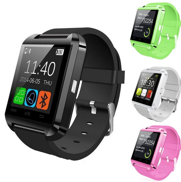 U Watch U8 Smart Bluetooth 3.0 Guarda Tracker Fitness Sport all'aria aperta per il sistema Android iOS