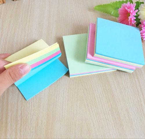 top popular School Office Sticky Notes Memo Pad Bookmark Paper Sticker Notepad Stationery 2020