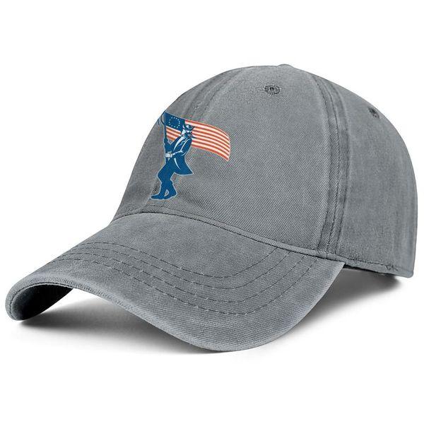 American Betsy Ross Flag man Sport Denim baseball hat casual adjustable women's summer cap original trucker cap mesh hats