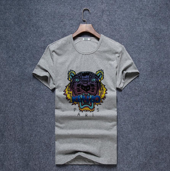 2019 New Men/'s V-Neck Short Sleeve T-Shirt Tops Cotton Unisex Tee Summer M-3XL