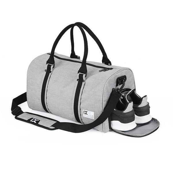 Bolsa de Viaje Bolsa Fin de Semana Impermeable Bolso Deportivo con Compartimento para Zapatos para Mujer y Hombre