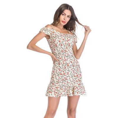 Женщины Печатные Повседневные платья Мода 2019 Новое прибытие Женские сексуальные праздничные платья Короткие красочные женские юбки Размер S-XL