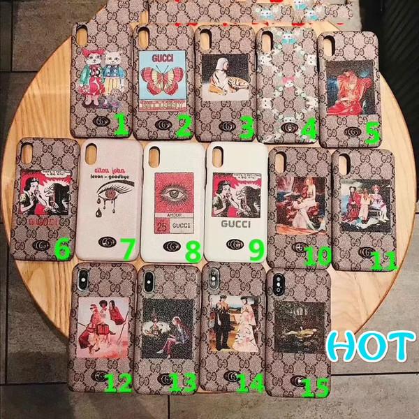 Designer Luxury Phone Case for Cheap IphoneX Iphone 9 Case Iphone7/8Plus Iphone 7/8 Iphone6/6sP 6/6s Fashion Back Cover Phone Case