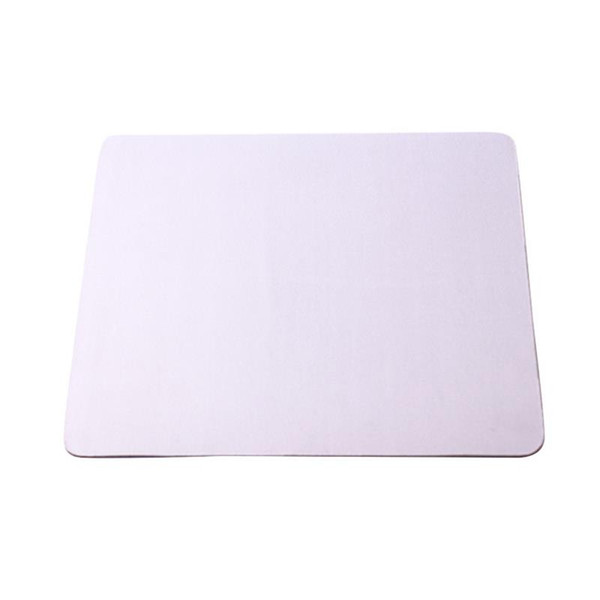 top popular Promotion Wholesale Customized Mouse Pad Blank Mousepad for Sublimation Heat transfer DIY Design Computer Pad Selfie Stick free shipping 2021