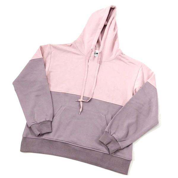 Marken-Qualitäts-lange Hülse 2019 neue Entwerfer-Frauen der Männer Art und Weise lose Pullover und natürliche Farben für Sport-beiläufigen Hoodies M-2XL B101309Q