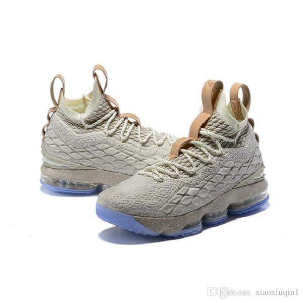 Дешевые то, что lebron 15 мужская баскетбольная обувь для продажи 15S MVP Рождество BHM Oreo молодежные детские ботинки поколения кроссовки с оригинальной коробке