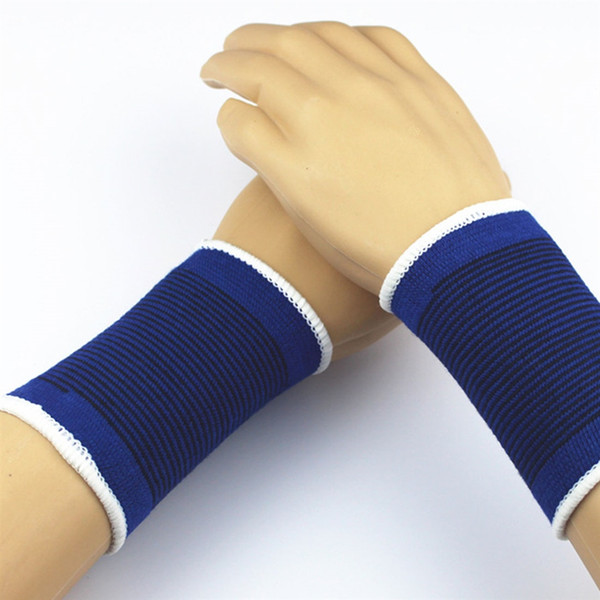 6 Sports exercise gym sweat wrist wrap bands