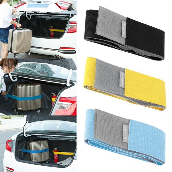 Car Trunk Stowing Organizer Strap Fixed Elastic Bandage Magic Sticker Band Interior Accessories Tensioning Belts