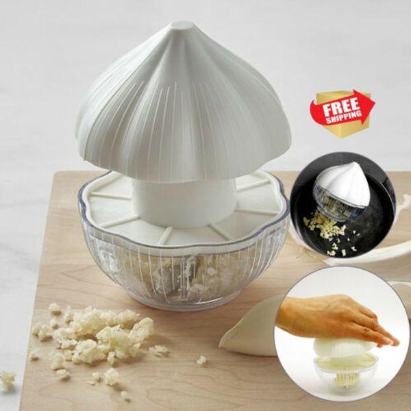 New Kitchen Pressing Food Chopper Cutter Slicer Peeler Dicer Vegetable Onion Garlic