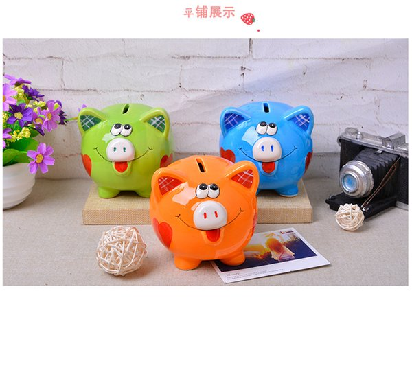 Christmas Giveaways For Kids.Ful Ceramic Cartoon Piggy Bank Crafts Ornaments Party Supplies Favor Christmas Gift For Kids Best Wedding Favours Best Wedding Giveaways From