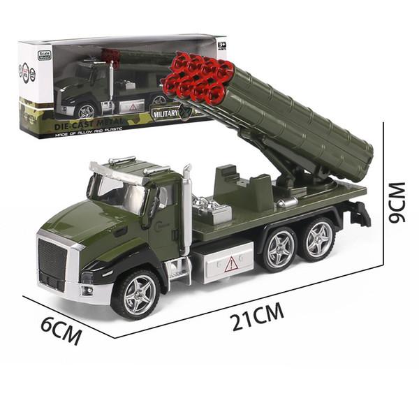 Auto a razzo militare