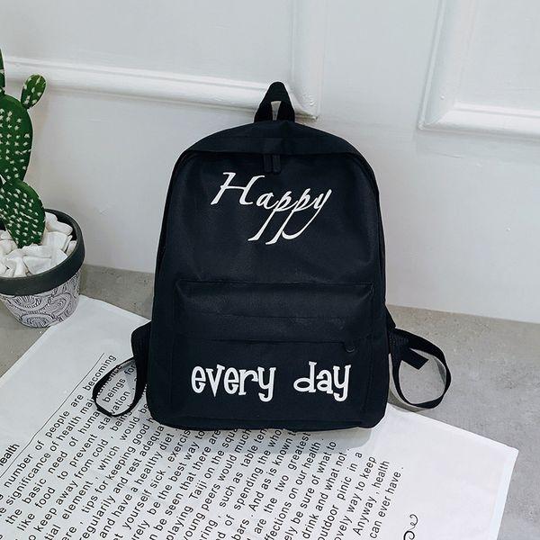 Fairy2019 Shoulders Both Package Woman Girl Backpack Campus High School A Schoolgirl Travelling Bag Concise Joker