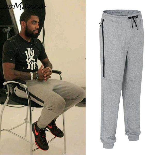 New Arrive Training Pants Men Joggers Slim Fit Basketball Sweatpants Cotton Zipper Workout Leggings Running Sport Trousers Men