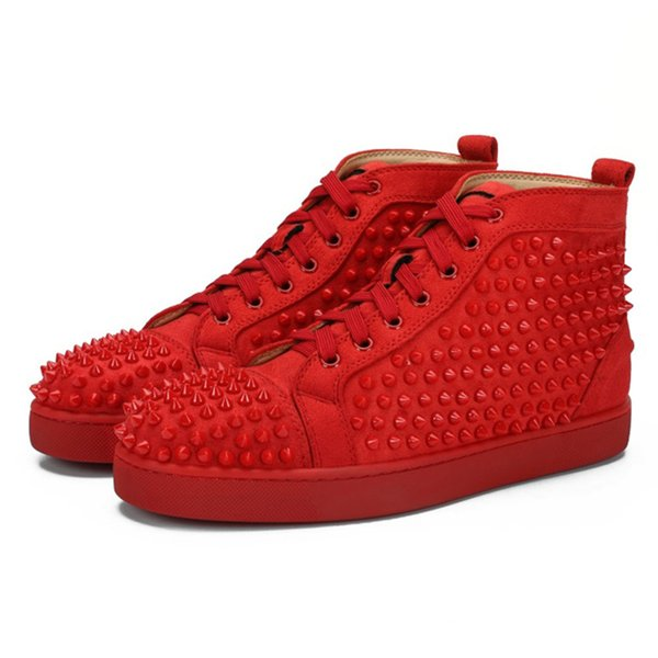 Suede Red