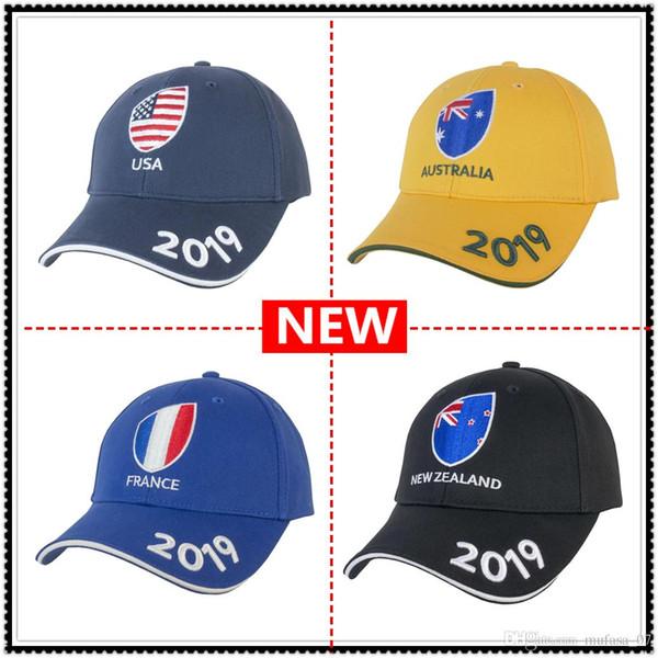2019 Dünya Kupası YENI ZELANDA RUGBY SUPPORTER CAP AVUSTRALYA İTALYA Amerika Birleşik Devletleri ABD milli takım kap
