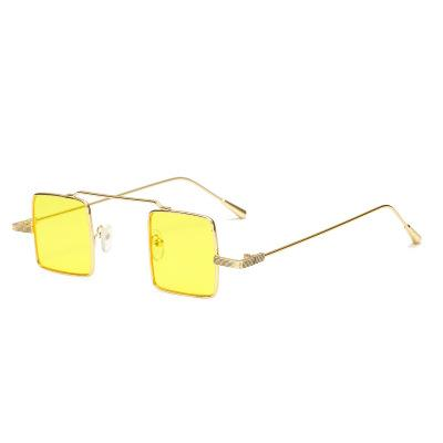 New Best-selling Square Retro Sunglasses for Male Personality Decoration in 2019(Buy 10 and send one glasses)