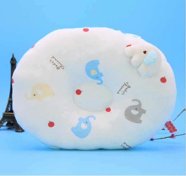 Cartoon Baby Pillow Sleeping Support Prevent Kids Protección de la cabeza Almohada Cojín Felpa Forma Animal Cojín Seguridad infantil Producto