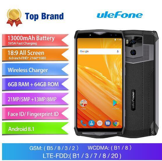 Ulefone Power 5 13000mAh 4G Smartphone 6.0