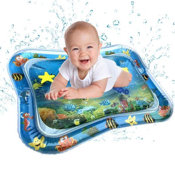 Cuscino gonfiabile del bambino della stuoia del rilievo Acqua Fun Kids Play Attività Centro per Bambini Neonati bambino Splash Pad Drop Shipping