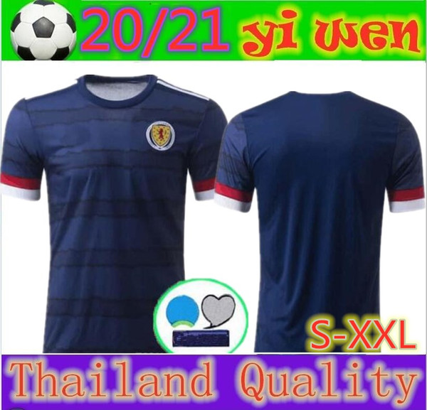 2020 2021 Schottland Fußballjerseys 20 21 camisetas de fútbol Hause McGregor McGinn Armstrong Robertson Nationalmannschaft Fußball-Trikots