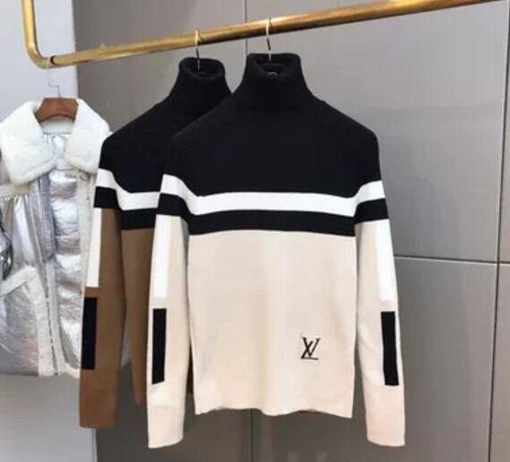 Women's Knits Tees 2019 Suéteres de diseñador Collares, collares, blusas, suéteres de Hip Hop americanos y americanos, de otoño e invierno.