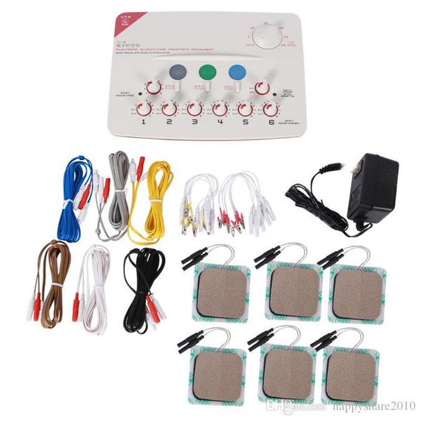 EMS Elektroakupunktur Tedavi Enstrüman Sinir ve Kas Stimülatörü Elektroakupunktur Masaj Sağlık Rölyef Ağrı ev masaj SDZ
