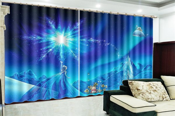 2019 Wholesale Curtain For Living Room Mysterious Power Girl 3d Digital  Printing HD Practical Beautiful Curtains From Yunlin888, $194.98 |  DHgate.Com