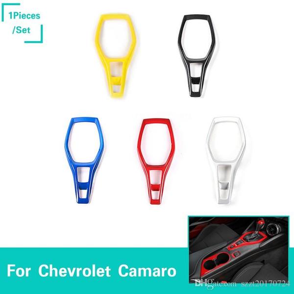 Central Console Gear Shift Panel Decoration Cover Trim Accessori interni Per Chevrolet Camaro 2017+ ABS per auto