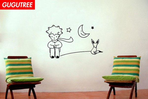 Decorate Home boys dogs cartoon art wall sticker decoration Decals mural painting Removable Decor Wallpaper G-1834