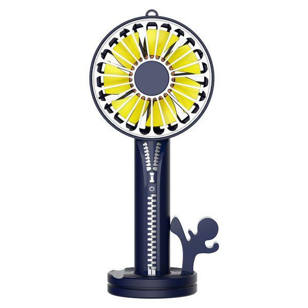 Novo multi-função usb ventilador de carregamento pequeno ventilador portátil ao ar livre mini ventilador espelho de maquiagem